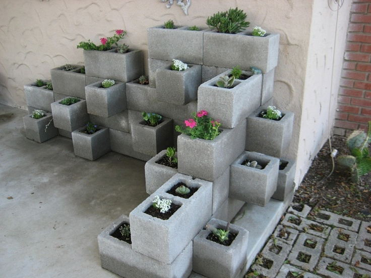 Dise o low cost el hormig n puede ser decorativo for Bloques decorativos para jardin