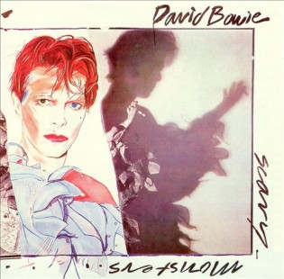 DAVID BOWIE - Scary Monsters (1980) Diseñada por Edward Bell