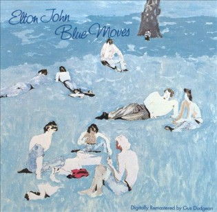 Elton John - Blue Moves (1976) Diseñada por David Costa