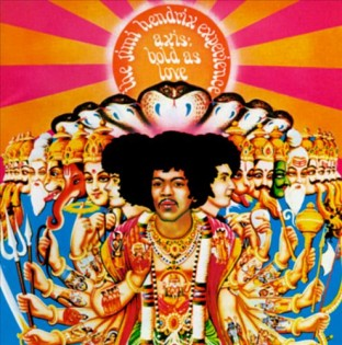 JIMI HENDRIX - Bold as Love (1967) Diseñada por Roger Law y David King