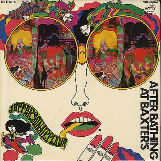 Jefferson Airplane - After Bathing at Baxter's (1967) Diseñada por Keiichi Tanaami