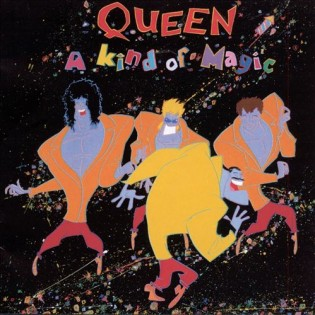 QUEEN - A kind of magic (1986) Diseñada por Roger Chiasson