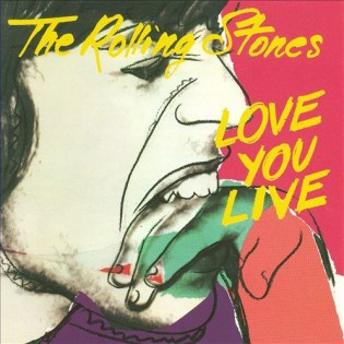 The Rolling Stones - Love you live (1977) Diseñada por Andy Warhol
